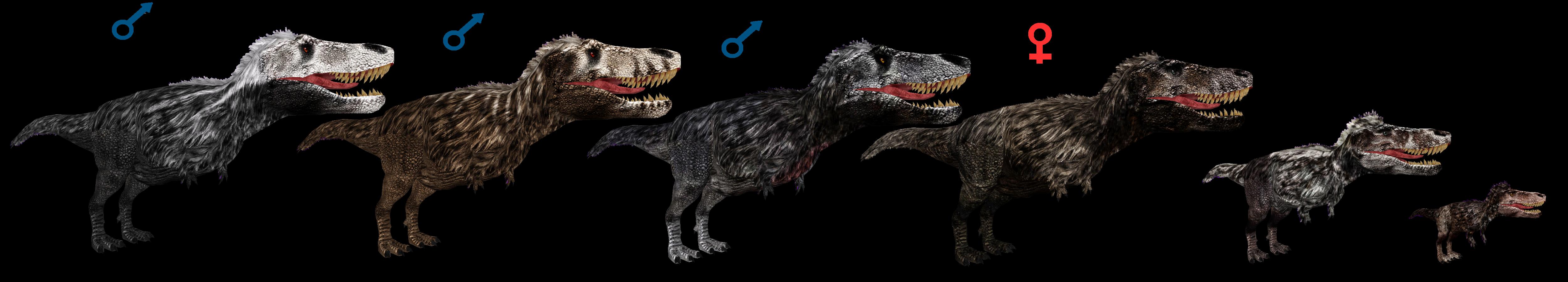 Dinosaur Revolution T-Rexs by ultamateterex2 on DeviantArt Utahraptor Dinosaur Revolution