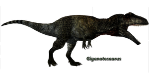 Giganotosaurus by ultamateterex2