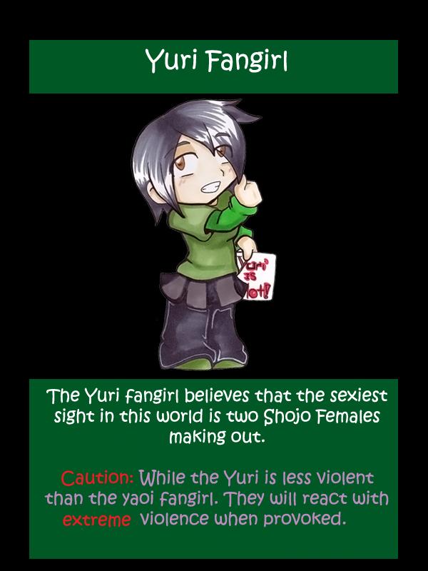Yuri fangirl Redone by blackcattlc