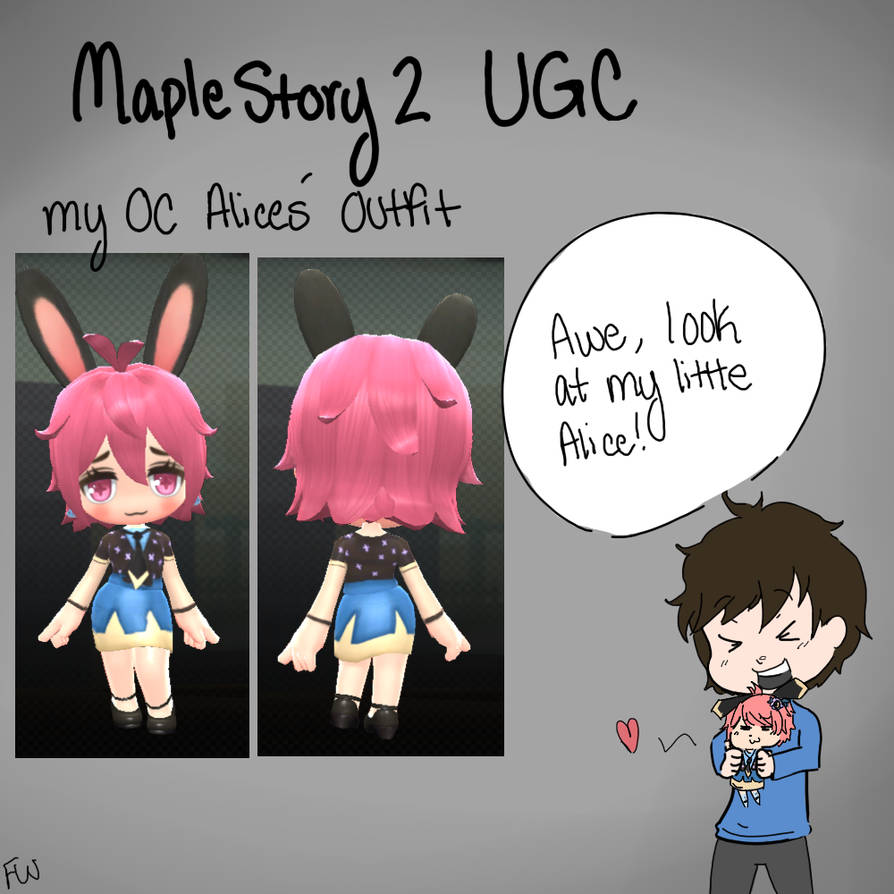 MS2 UGC - My OC Alice Outfit by ForgottenWinds on DeviantArt