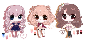 Cute Point or Cash Adopts [OPEN] - Lowered Price by MayuchiHime