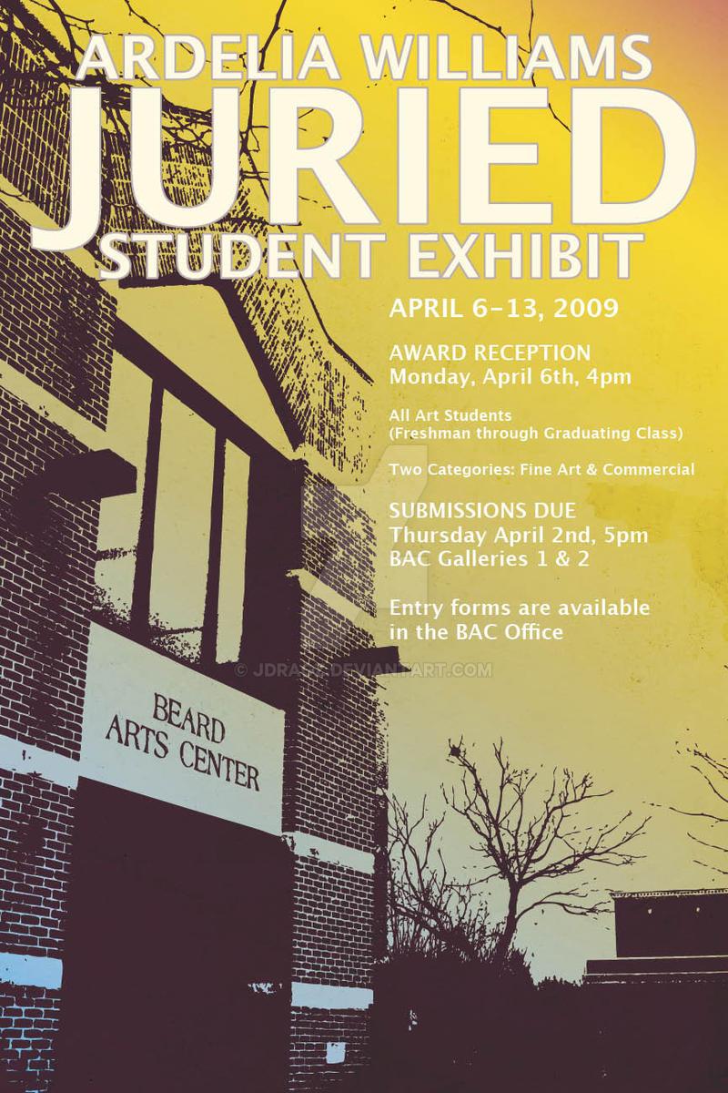 Williams Exhibit Poster '09