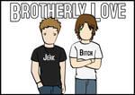 SPN Postcard: Brotherly Love