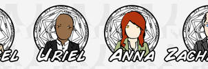Supernatural Stickers: Angels