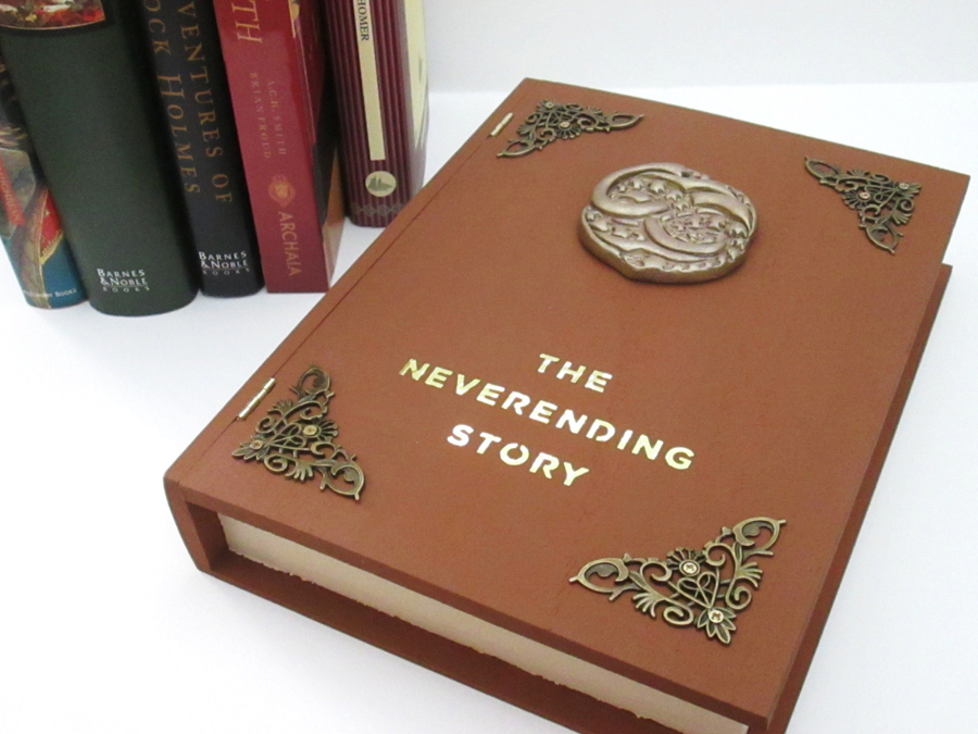 The Neverending Story book box by kaztielkrafts