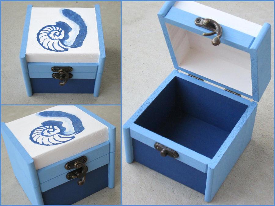 Orphan Black Cosima trinket box by kaztielkrafts