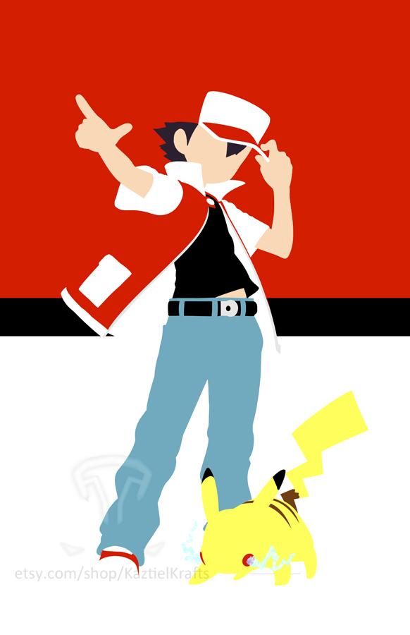 Pokemon Minimalist by kaztielkrafts