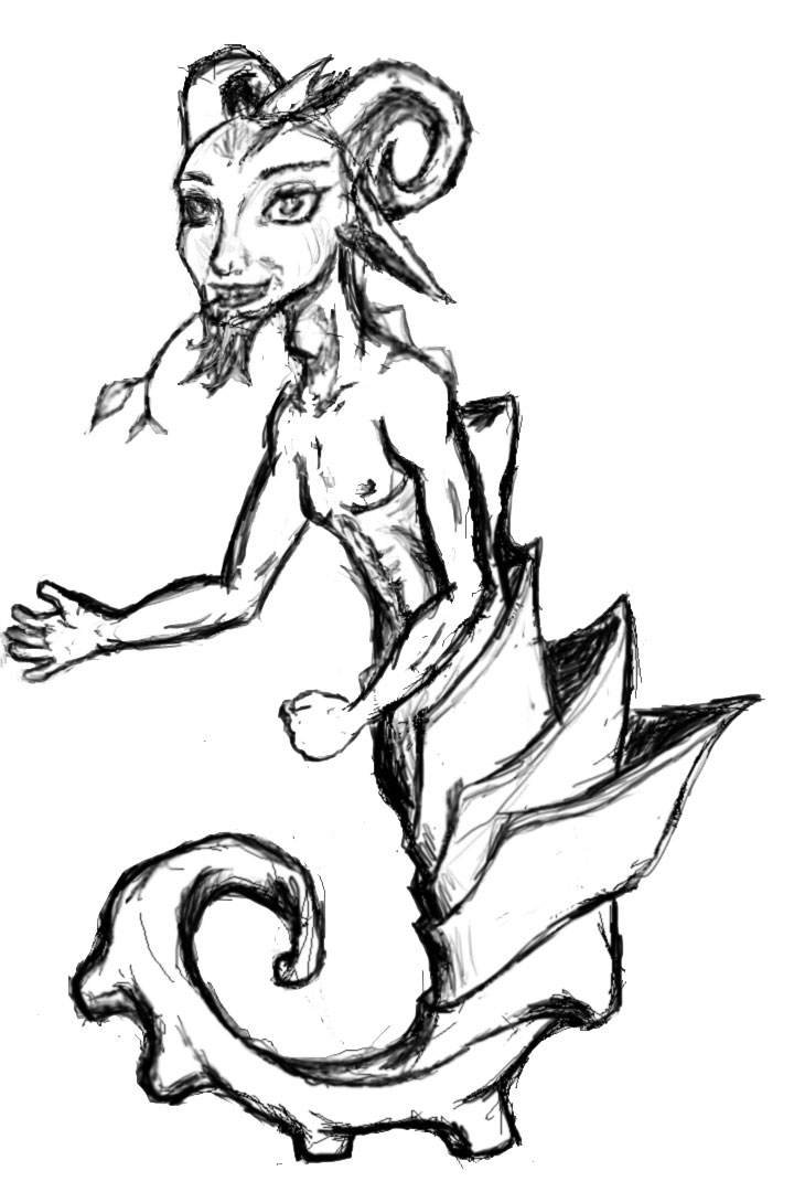 Sea Satyr by Dj-DigiCat