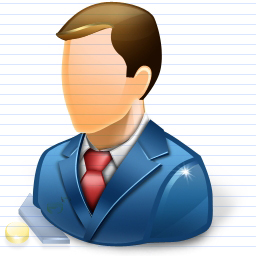 Free Business Man Icon by artistsvalley
