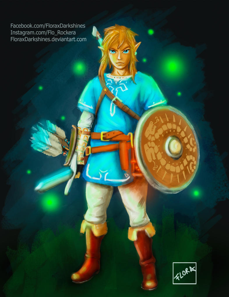 Link by FloraxDarkshines