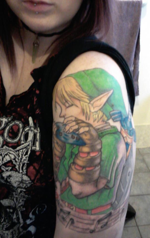 Midna Tattoo Design