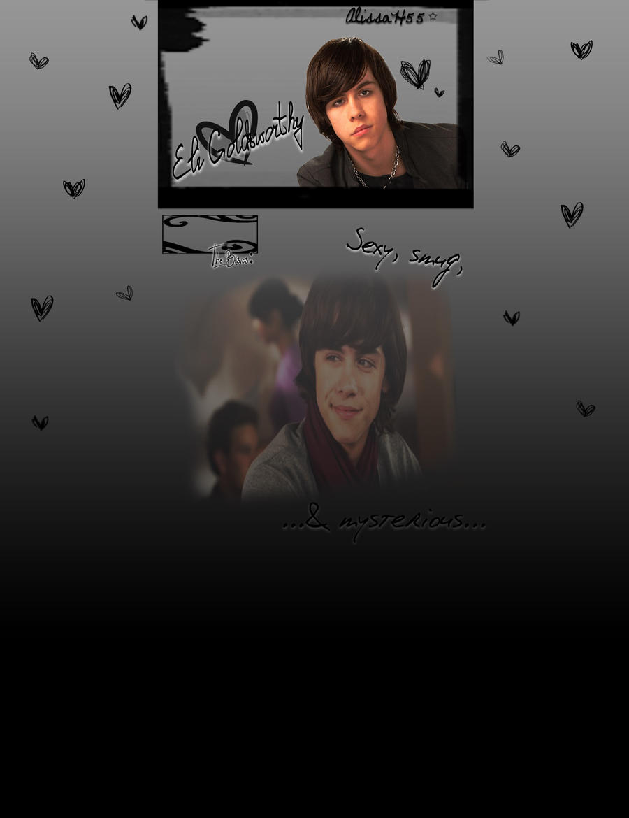 Eli Goldsworthy background :D by Lissyh55