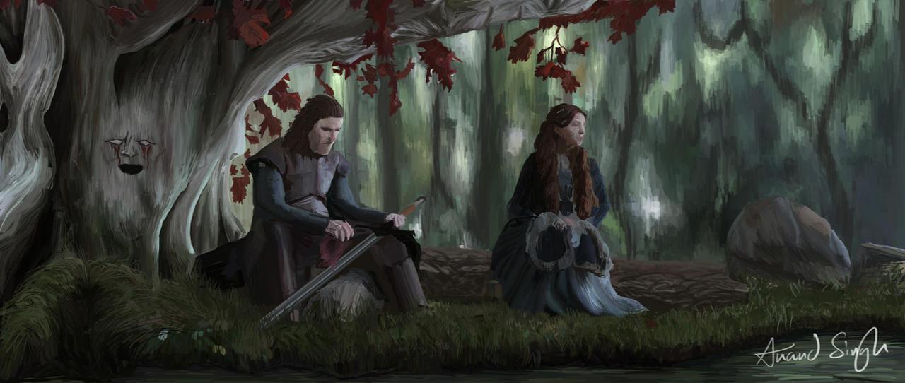 Forest игра женщина
