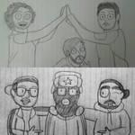 Jingle Jam Doodles by AirwaveLOL