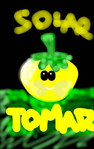 Solar Tomato from PvZ2 by Juzernejm05