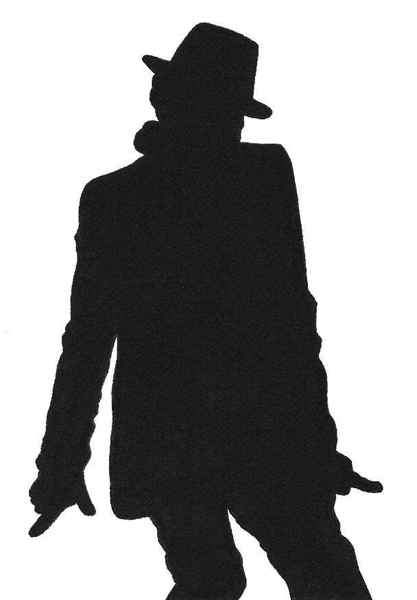 michael jackson silhouette by kikielzinga