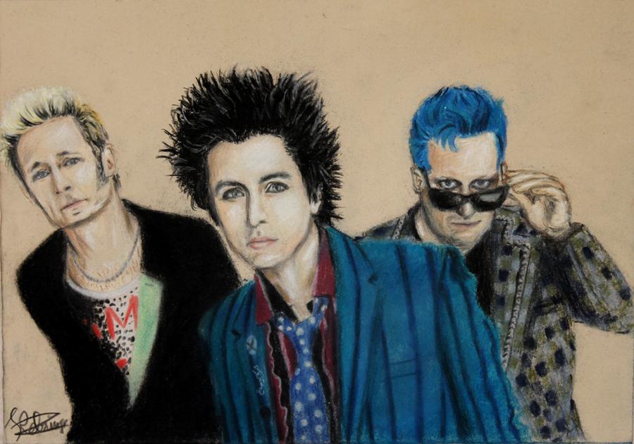 Green Day by kikielzinga