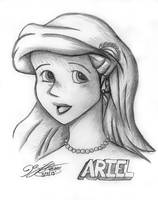 Ariel from The Little Mermaid by JimmyDrawsArt