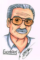 Stan 'The Man' Lee by JimmyDrawsArt