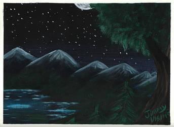 Stary Night by JimmyDrawsArt