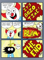 Bozo in Explosion