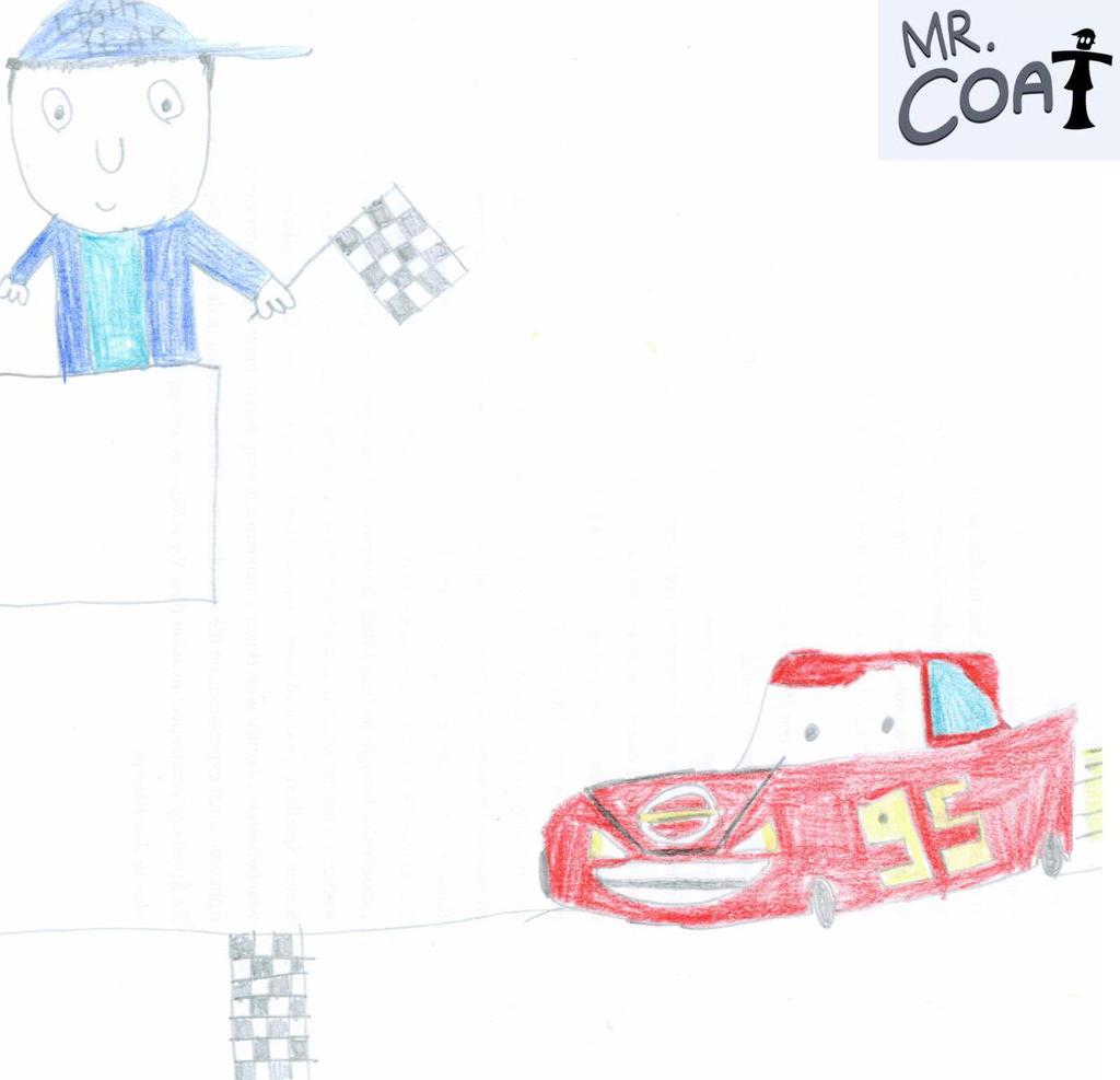 Mr. Coat - Coloured 'Cars Defense' Title Card