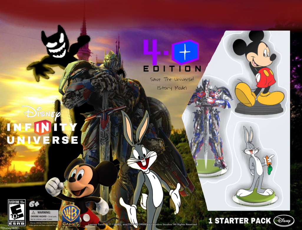 Disney Infinity 4 0 Edition Universe Starter Pack By