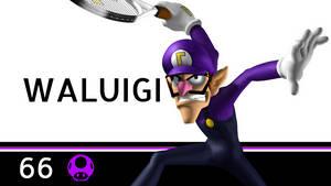 Super Smash Bros. Ultimate - Waluigi