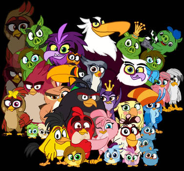 Disney's Angry Birds - Characters Redesign