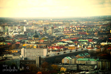 Stockholm City by Rect0o