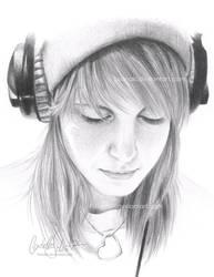 Hayley Williams by Loonaki