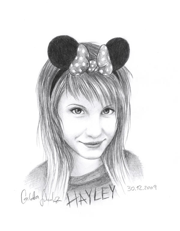 Hayley-Mouse Sketch by Loonaki