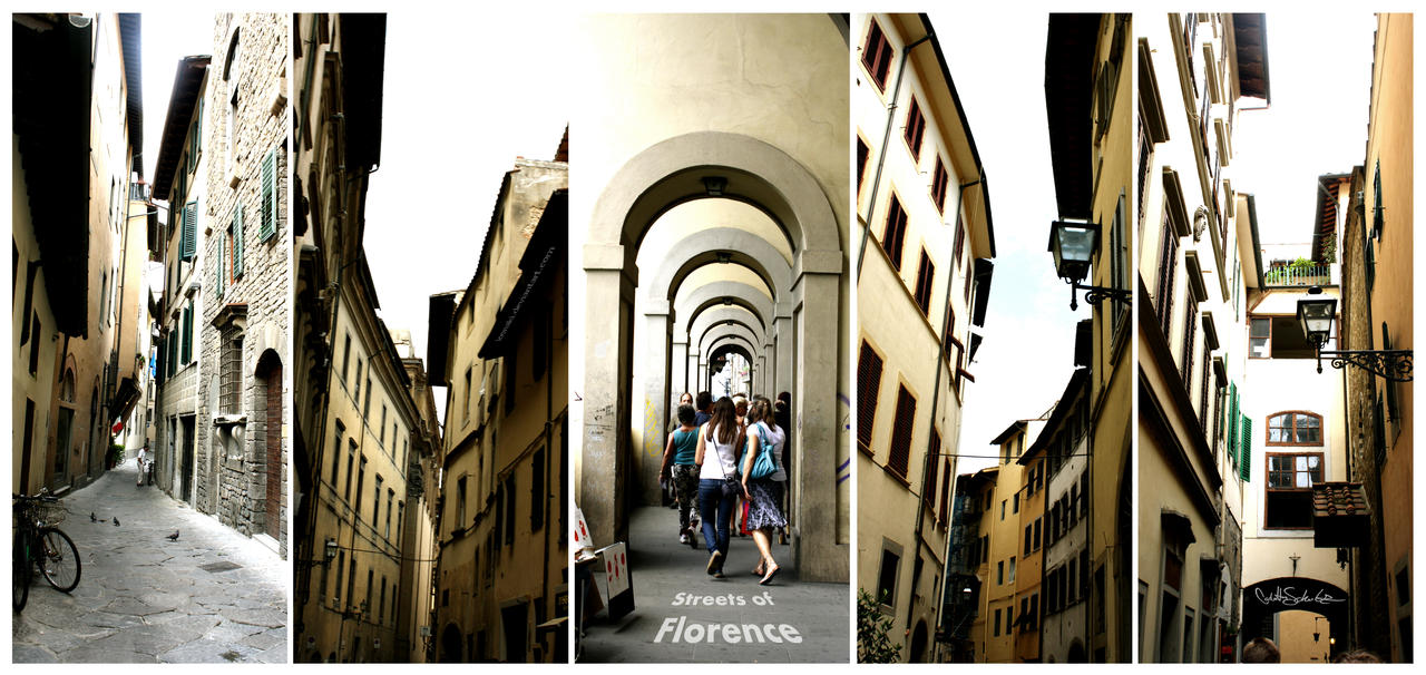 Streets Of Florence by Loonaki