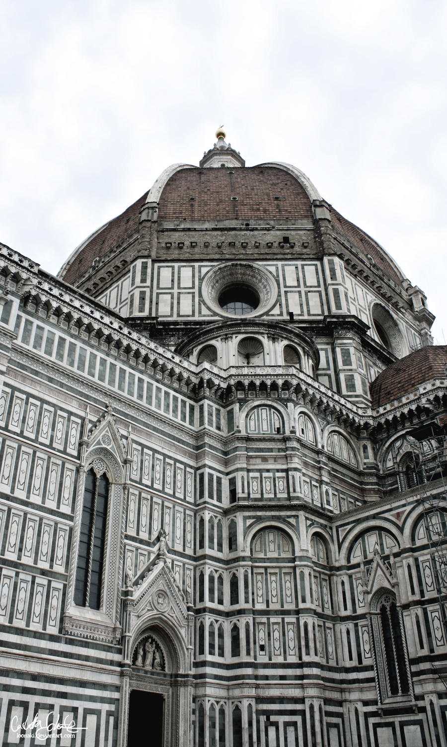 Cathedral of Florence II by Loonaki