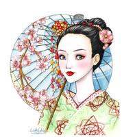 Geisha by Loonaki