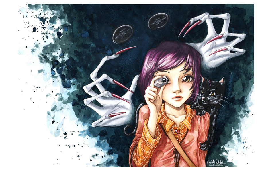 Coraline by Loonaki