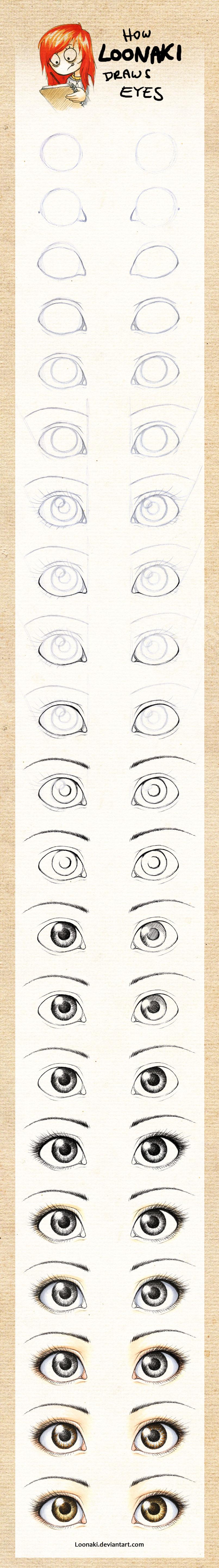 Для того, чтобы у куклы или игрушки появилось красивое и запоминающее личико, надо правильно нарисовать глаза...