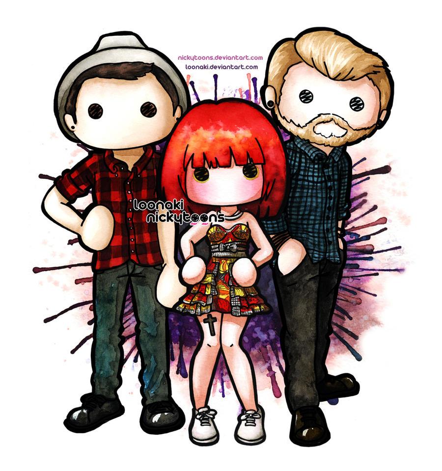 Paramore: NickyToons + Loonaki by Loonaki