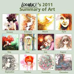 2011 Summary Of Art by Loonaki