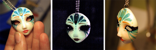 Venetian Mask Pendant