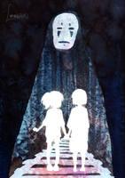 Spirited Away - Ghibli Series II by Loonaki