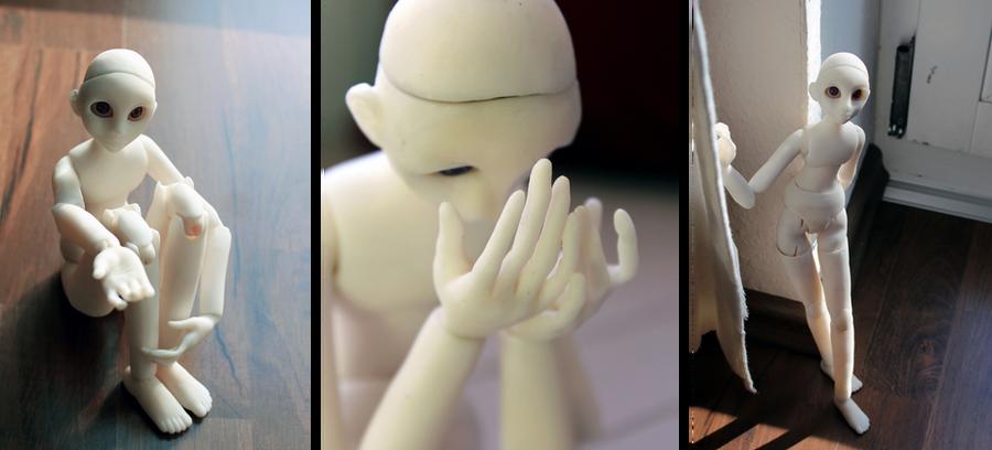 Doll In Progess II by Loonaki