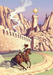 Castle Aquila by Sankam