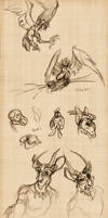 Sketchdump Winter 2010 by Sankam