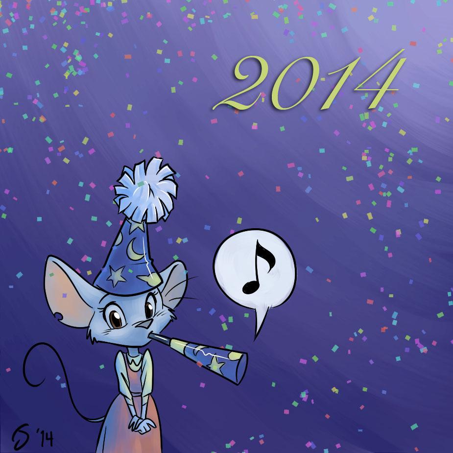 Happy New Year! by Sankam