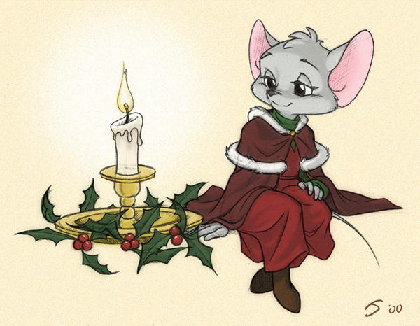 A Merry Little Chrismouse by Sankam