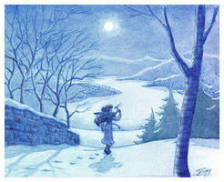 Full Moon by Sankam