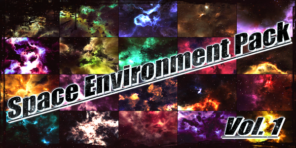 Space Environment Pack Vol.1 by BlenderAdept