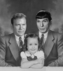 Spirk Family Portrait by blackfoxlady