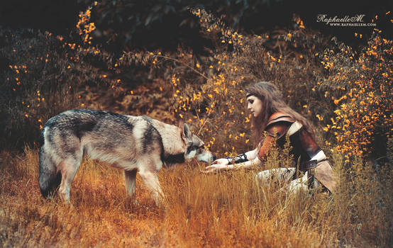 She tamed the Wolf